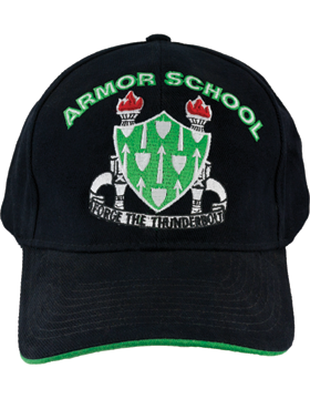 View Army Ball Cap Armor School