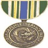 View SERVICE MEDAL KOREA DEFENSE MM PIN