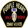 View WWII VETERAN PURPLE HEART COMBAT WOUNDED PIN