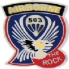 View ARMY PIN 503RD AIRBORNE INFANTRY REGIMENT THE ROCK