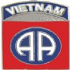 View ARMY PIN 82ND AIRBORNE  VIETNAM