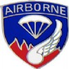 View ARMY PIN 187TH AIRBORNE PARACHUTE AND WING