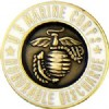 View MARINE CORPS HONORABLE DISCHARGE PIN