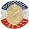 View HONOR AND DEFEND LIBERTY PIN