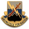 View US ARMY UNIT CREST 102ND MILITARY INTELLIGENCE BATTALION MOTTO: KNOWLEDGE FOR BATTLE 1-PAIR