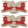 View Army Crest: 130th Engineer Battalion - Skill and Strength 1 PAIR