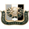 View US ARMY Regimental Unit Crest Psychological Operations (Persuade Change Influence)