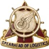 View US ARMY Regimental Crest Transportation (Spearhead of Logistics)