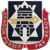 View US Army 126th  Finance Battalion Unit Crest DUI (Dragon Purser Pay Ready)