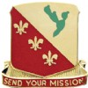 View US Army 129th FA Field Artillery Unit Crest DUI (Send Your Mission)