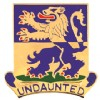 View US Army 119th Infantry Battalion Unit Crest DUI  (Undaunted)