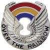 View US ARMY 142nd Aviation Unit Crest DUI (Over The Rainbow)