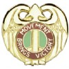 View US ARMY 143rd Transportation Command Unit Crest DUI (Movement Brings Victory)