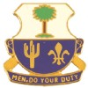 View US ARMY 163rd  Infantry Unit Crest DUI (Men Do Your Duty)
