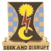 View US ARMY 109th Military Intelligence Battalion Unit Crest DUI  (Seek And Disrupt)