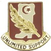 View US ARMY 105th Support Battalion Unit Crest DUI (Unlimited Support)