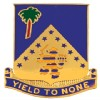 View US Army 125th Infantry Unit Crest DUI (Yield To None)