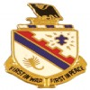 View US ARMY 161st Infantry Unit Crest DUI (First In War First In Peace)