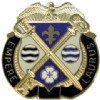 View US ARMY 165th Quartermaster Group Unit Crest DUI (Empere Laurus)