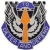 View US ARMY 166th Aviation Brigade Unit Crest DUI (To Deter And Defend)
