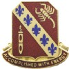 View US ARMY 168th Regiment  Unit Crest DUI (Accomplished With Energy)