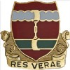 View US ARMY 205th Regiment  Unit Crest  Pin DUI  (Res Verae)
