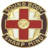 View US ARMY 338th Medical Group Unit Crest DUI (Sound Body Sharp Mind)