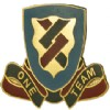 View US ARMY 410th Support Battalion Unit Crest Pin DUI  ( One Team)