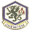 View US ARMY 415th Chemical Brigade Unit Crest Pin  (Chemism)