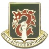 View US ARMY 504th Military Police Battalion Unit Crest (Duty Justice And Honor)