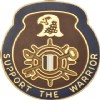 View   US ARMY 1034th Support Battalion Unit Crest Pin (Support The Warrior)