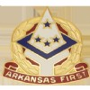 View US Army Arkansas State HQ Army National Guard Unit Crest (Arkansas First)