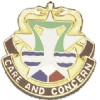 View US ARMY Medical Department Activity Fort Hood Unit Crest (Care And Concern)