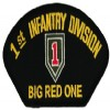 View 1ST INFANTRY DIVISION THE BIG RED ONE PATCH