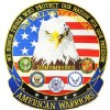 View PATCH-AMERICAN WARRIORS (XLG) (12-1/2