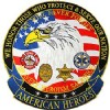 View JACKET PATCH-AMERICAN HEROES (XLG) (12-1/2