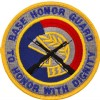 View US AIR FORCE PATCH BASE HONOR GUARD TO HONOR WITH DIGNITY COLOR