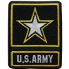 View US ARMY OF ONE PATCH  WITH STAR 2 1/2