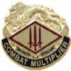 View US ARMY 13th Finance Group Unit Crest DUI (Combat Multiplier)