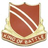 View US ARMY 108th Regiment Unit Crest DUI (CST) (King Of Battle)